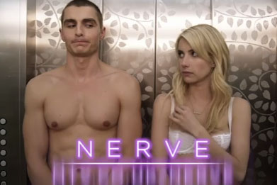Nerve: movie stars Dave Franco and Emma Roberts