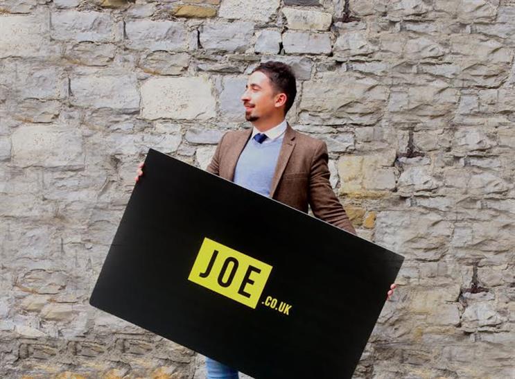 Nial McGarry: with Joe.co.uk, his latest venture