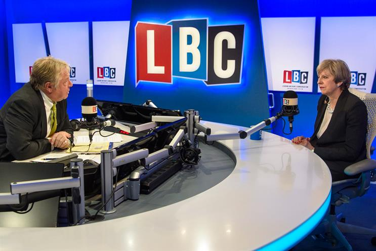 LBC: Nick Ferrari interviews Theresa May