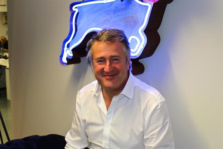 Nick Fox: a founding partner at Atomic London