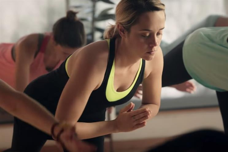 Protein princesses: Nike's 'Inner Thoughts' campaign was targeted at women