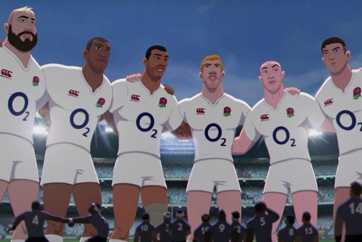 O2: the operator's 'Wear the Rose' campaign during the Rugby World Cup