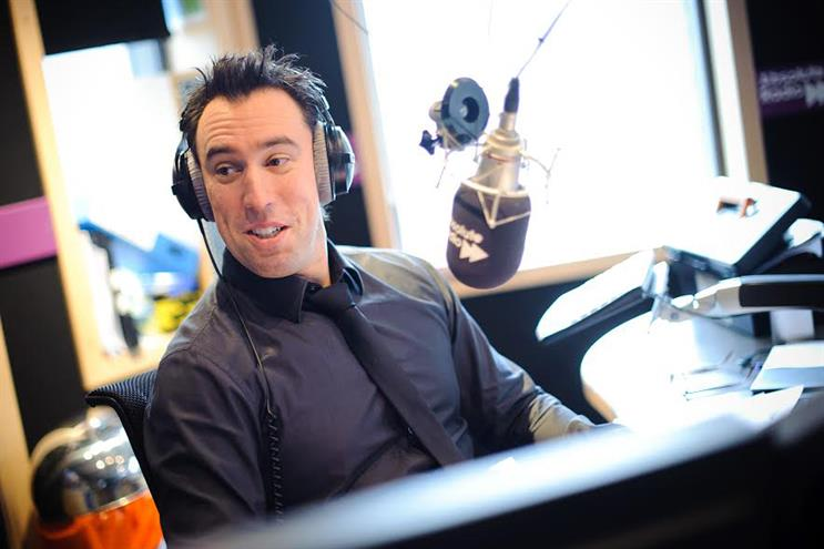 Christian O'Connell: presents Absolute Radio's breakfast show