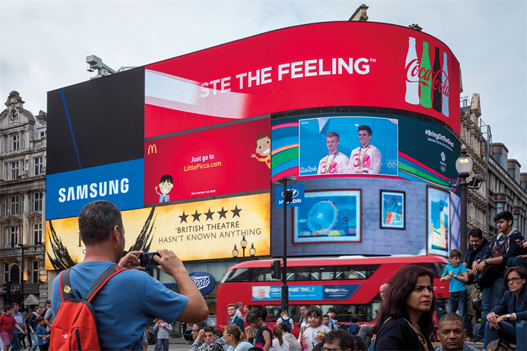 London, Piccadilly Lights: iconic landmark is undergoing a major upgrade to a single state-of-the-art screen