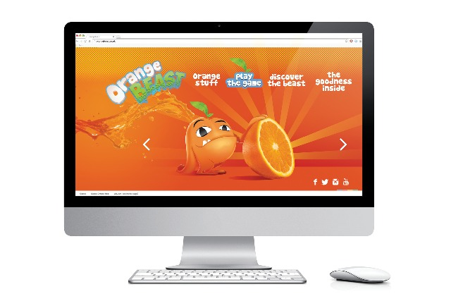 Orange Beast: fictional brand created to see whether it would be marketed to children