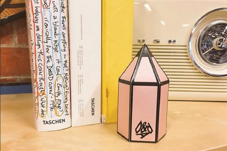 Paper pencil: Jenny Green has still not received her real pencil award from D&AD