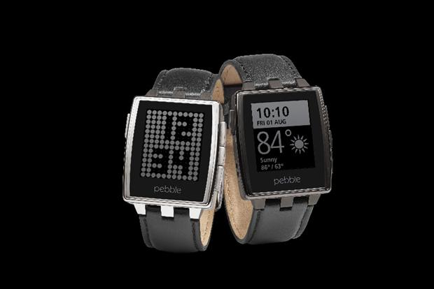 Wearables: Pebble Watch has a built-in GPS and heart rate detector