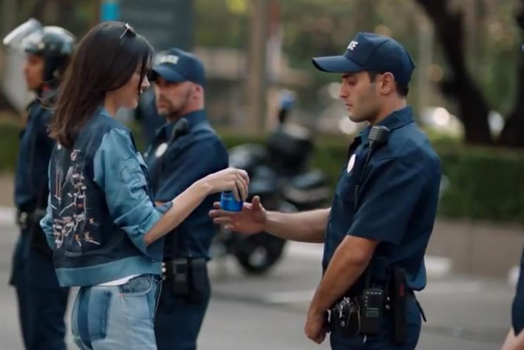 Pepsi: ridiculed ad starring Kendall Jenner was created in-house