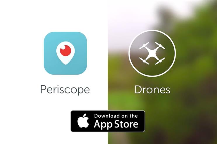 Periscope to allow drones to broadcast live video