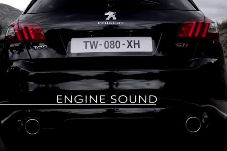 Peugeot: mobile ads aim to simulate the feeling of driving