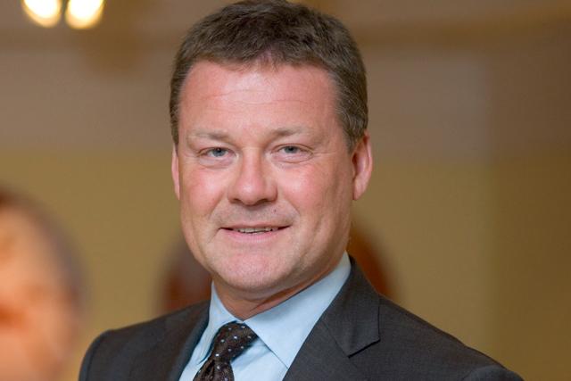 Hayes: left News UK in 2015