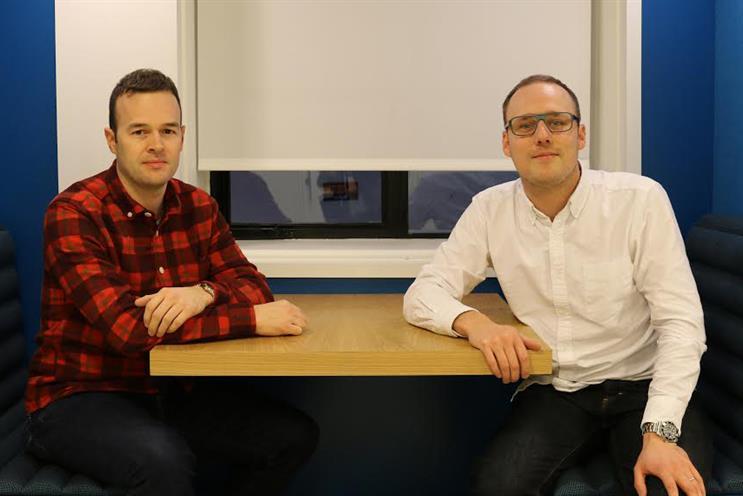 PHD recruits: Nick Larder (left) and Tom Darlington