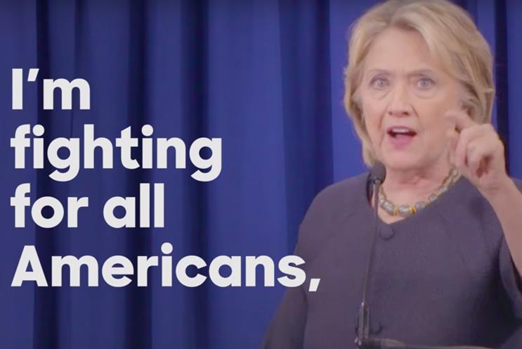 Is Clinton being Trumped in the online ad war?