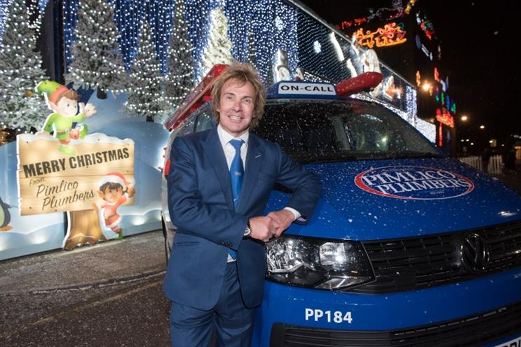 You'll never see a builder's bum on a Pimlico Plumbers engineer, says founder Charlie Mullins