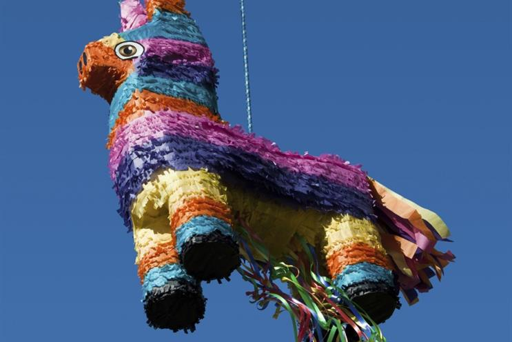 Airbnb sent a pinata to customers during SXSW