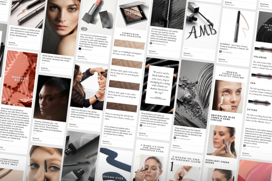 Pinterest: claims 42% of 'pinners' have made a beauty purchase after viewing a pin