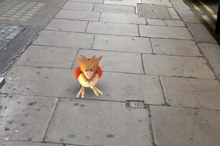 Pokemon Go: AR game puts characters into the real environment
