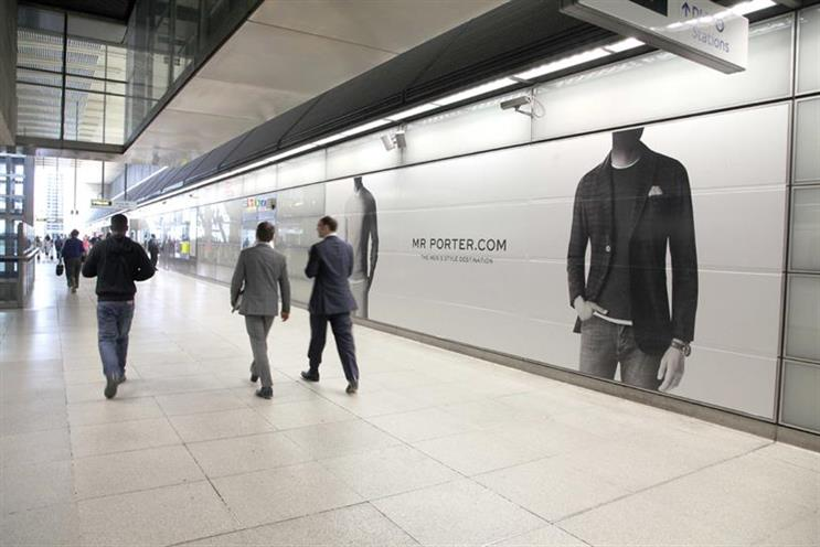 Mr Porter: has appointed its first retained creative agency