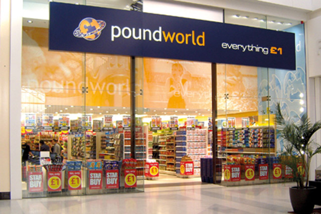 Poundworld: censured by the ASA over its 'everything £1' claim