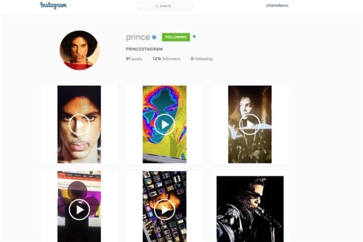 Lessons from Prince and the platform formerly known as Instagram