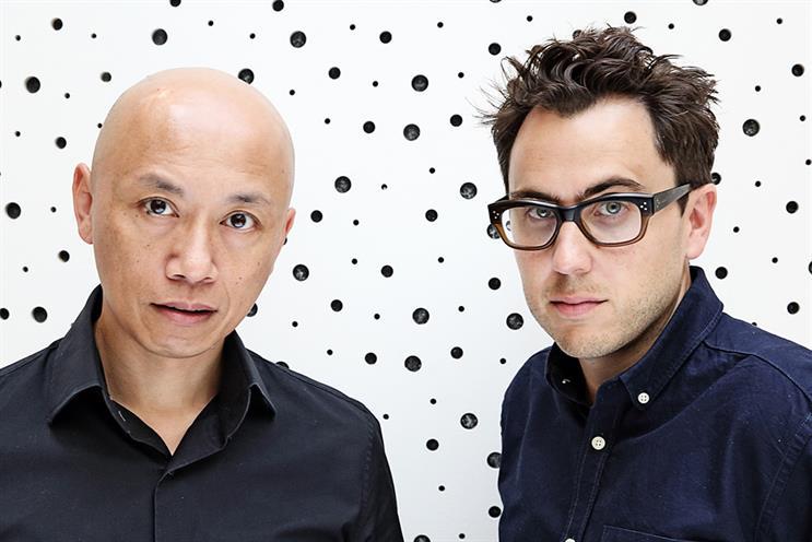 Ray Chan and Simon Cenamor: award-winning duo poached by BBH London