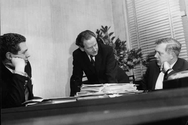 KMP: (left to right) Palmer, Manton and Kingsley nurtured many young recruits who went on to establish their own businesses