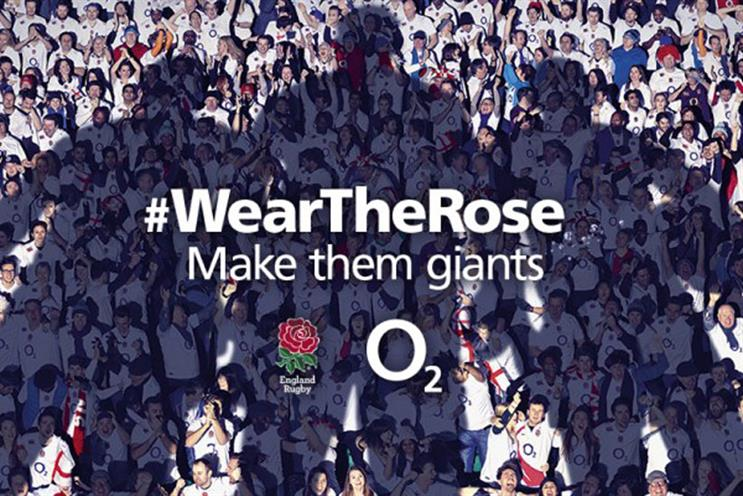 O2 wins major rugby sponsor social battle