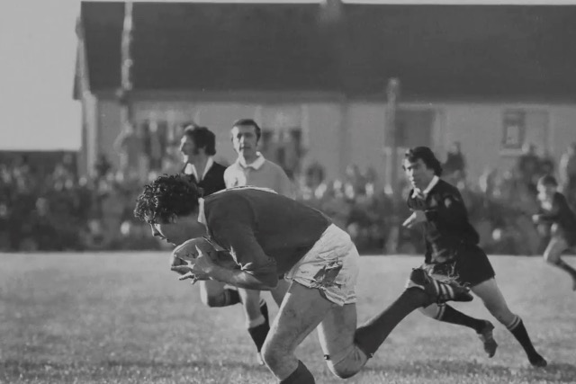 Guinness: ad celebrating Munster team's defeat over New Zealand in 1978