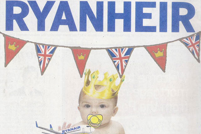 Ryanair: tactical ad is one of most-viewed on Campaign