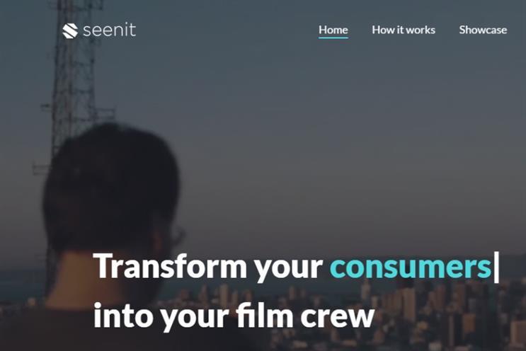 Unilever: last year's start-up winner Seenit