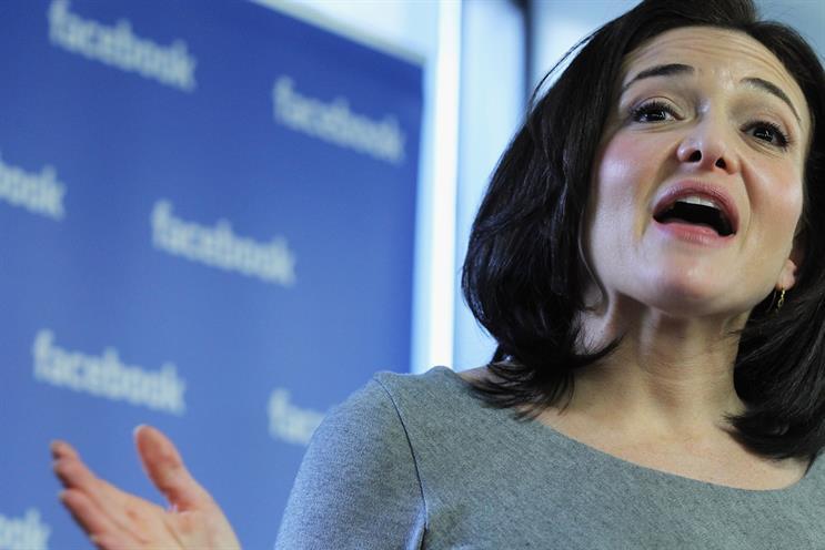 Sheryl Sandberg will launch the initiative this morning