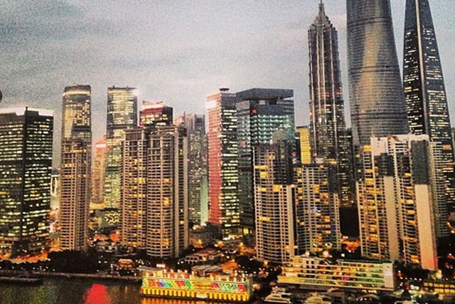 Singapore: snapped by Maxus UK chief executive Lindsay Pattison