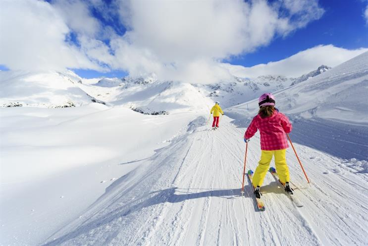 Having 'balls out!' shouted on a ski slope helped Zoe Harris build confidence at work