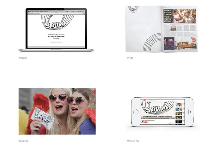 Adam & Eve/DDB wins gold at Cannes for Skittles 'Give the rainbow'