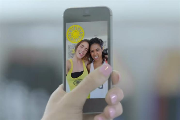 Snapchat: the platform is opening up to UK brands