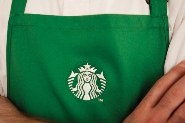 Starbucks experienced a 14.6% plunge in US shopper footfall in the last two months of 2013.