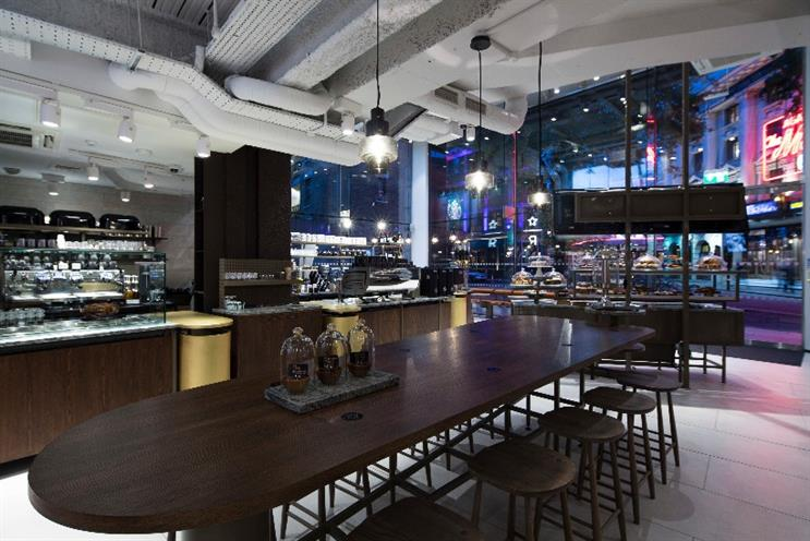 Watch: inside Starbucks' new concept store