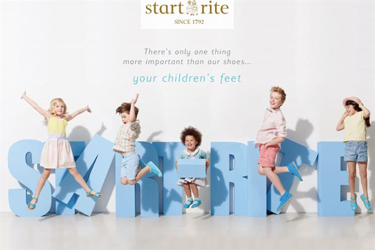Start-rite: Generation Media will handle the brand's media from 1 January
