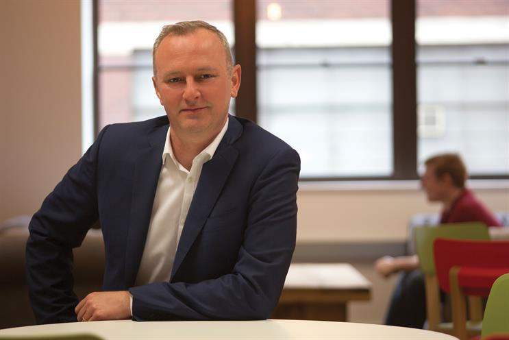 Craig Chalmers: the chief executive at Stickyeyes