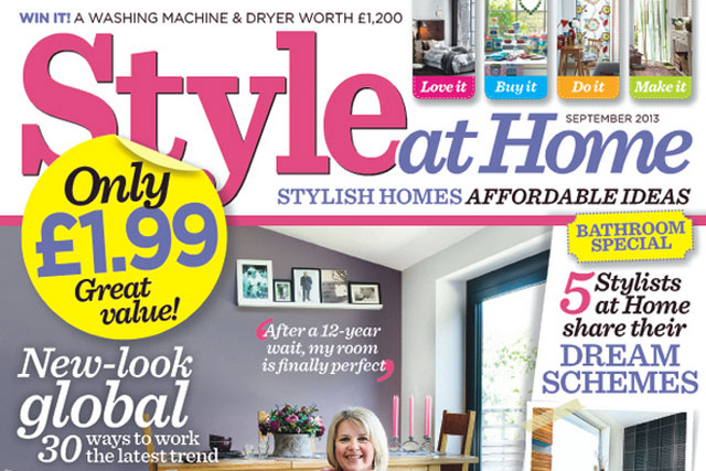 Style at Home: recorded a circulation of 95,916 in the first half of 2013