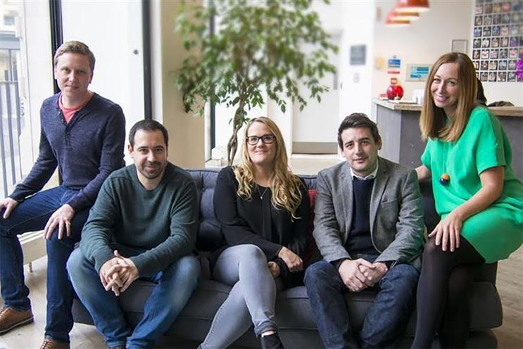 OMD's senior digital team (l-r): Lewis-Jones, Pain, Betts, Denyer, and Ryder