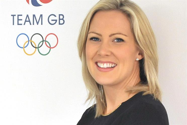 Leah Davis: the head of marketing at Team GB