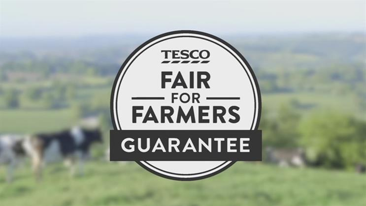 Tesco talks up fair deal for farmers with new guarantee on milk