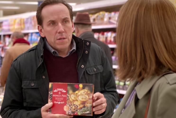Tesco: part one of the supermarket's Christmas 2016 campaign