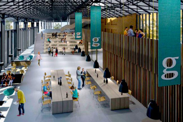 Hub of activity: an artist's impression of the Guardian Space, which launches in autumn 2016