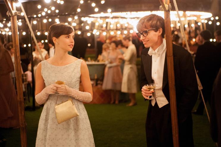 The Theory of Everything: stars Felicity Jones and Eddie Redmayne