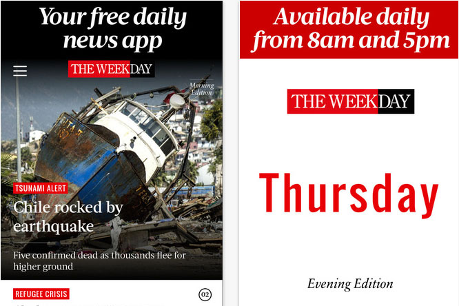 The Week: rolls out news app