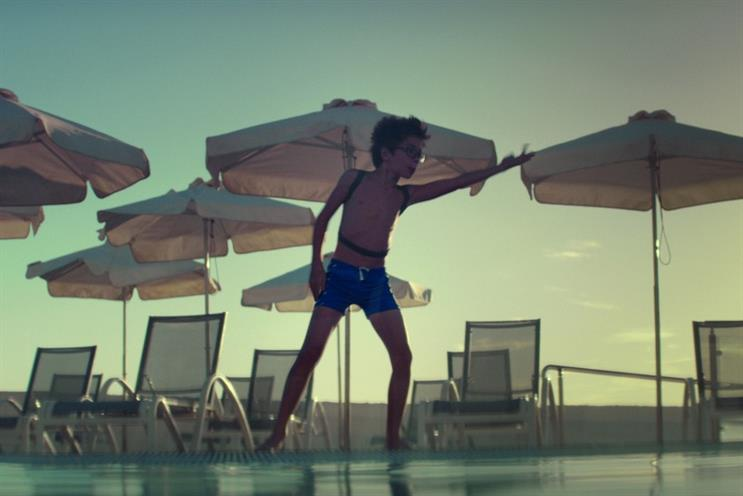 Thomas Cook: the firm's December mass-market travel campaign