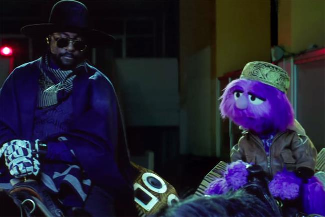 Three: recent ad campaign featured Will.i.am and brand mascot Jackson for the launch of Dial