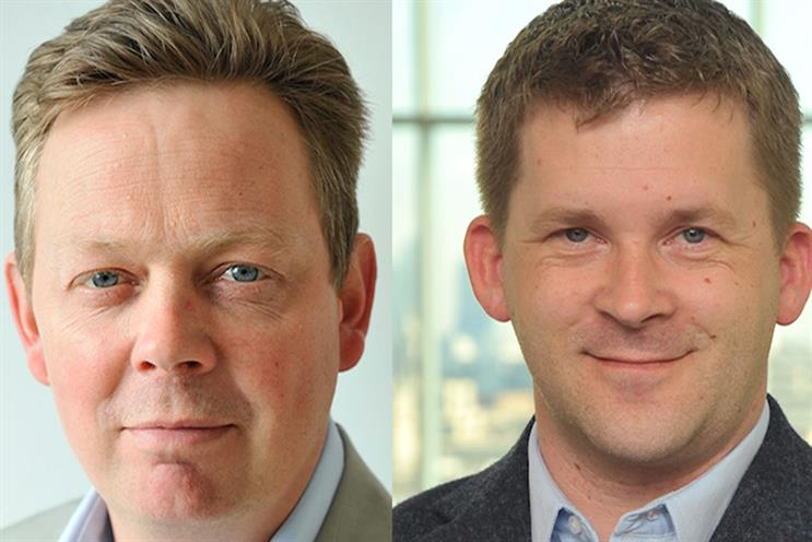 Changes at Time Inc: Charlie Meredith (left) and Sam Findlay
